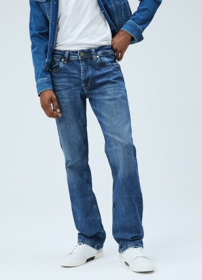 Pepe Jeans Kingston Relaxed Fit Regular Waist Jeans
