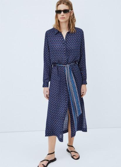 Nina Long Dress Multi