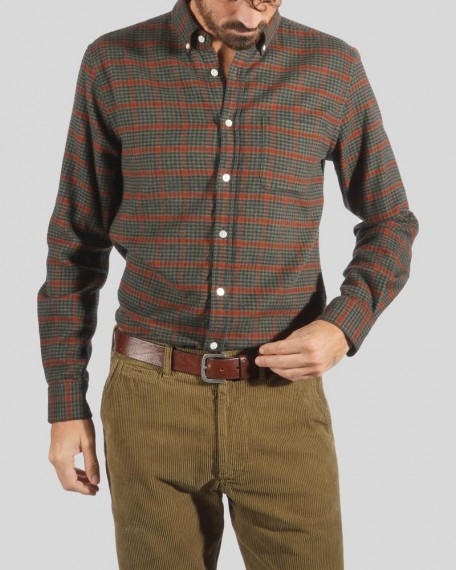 Coimbra Check Flannel Forrest