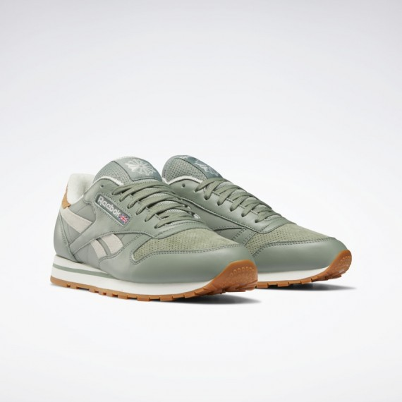 Reebok Classic Leather Harmony Green / Chalk
