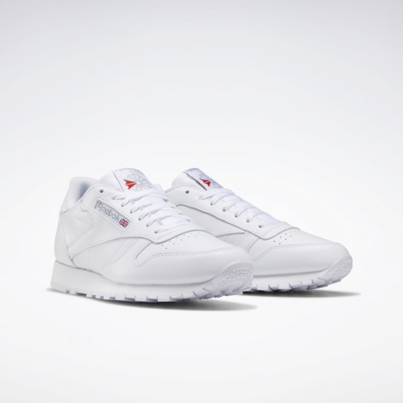 Classic Leather White Mono