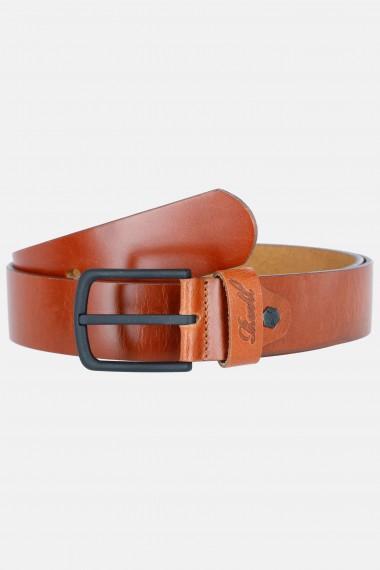 All Black Buckle Belt Vintage Hazel