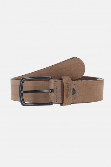 All Blk Buckle Belt - Cappuccino