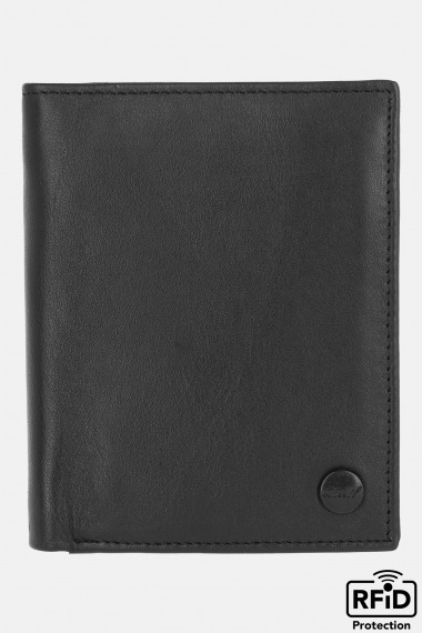 Clean Leather Wallet Black