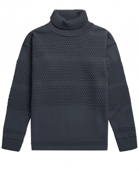 Fisherman Rollneck Anthra