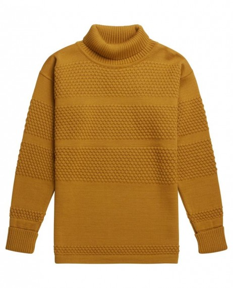 Fisherman Rollneck Curry Yellow