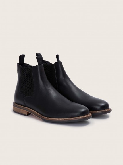 Pilot Chelsea Antik Black Boots for Men