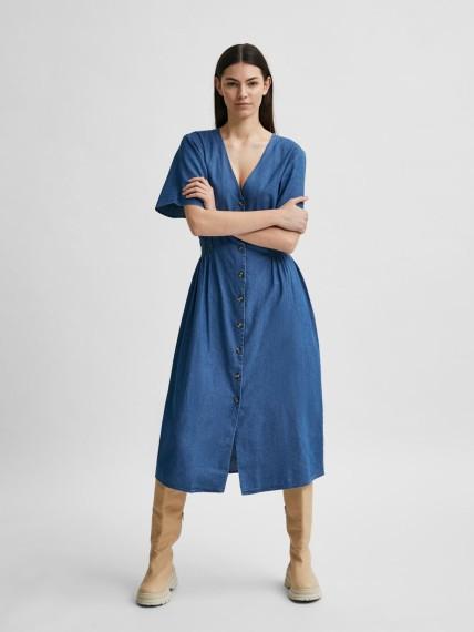 Clarisa Medium Blue Denim