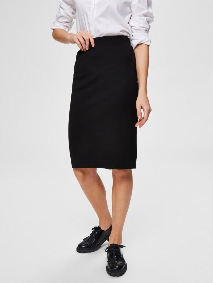 Selected Femme Helly Pencil Skirt