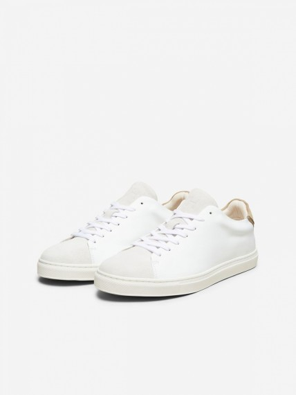 Selected Homme David New Contrast Sand