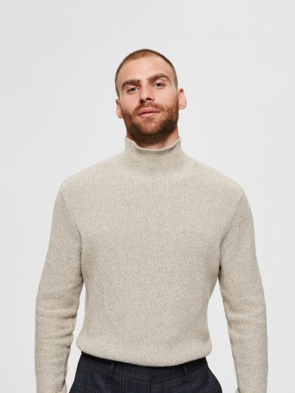 Selected Homme Diego High Neck