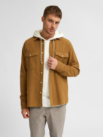 Loose Troy Overshirt Dull Gold