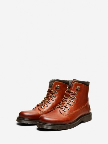 Mads Leather Warm Boot Brown