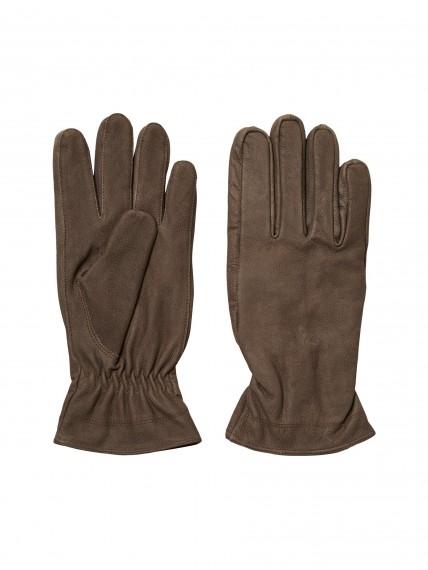 Richard Nubuck Gloves Dark Grey