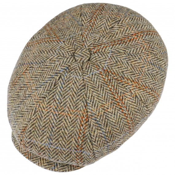 Hereford Harris Tweed Ballonmütze