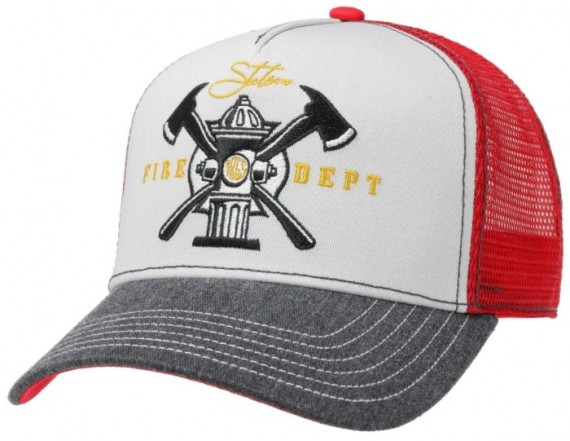 Trucker Cap Fire Dept