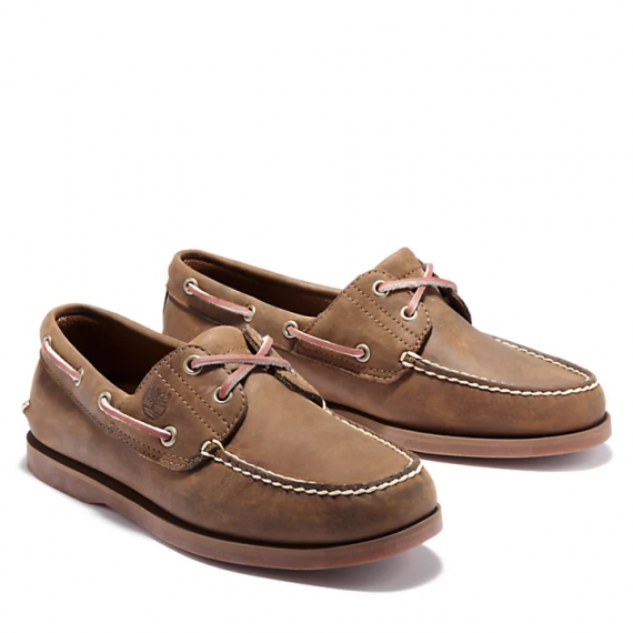 Classic Boat Shoe for Men in Brown