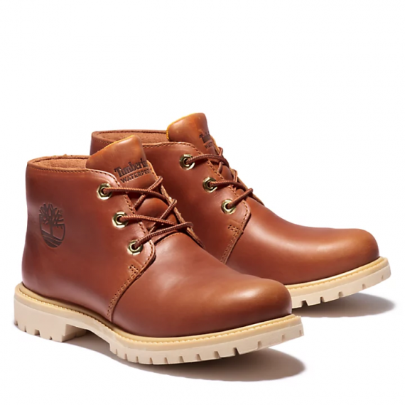 Timberland Nellie Logo Chukka Boot for Women in Brown
