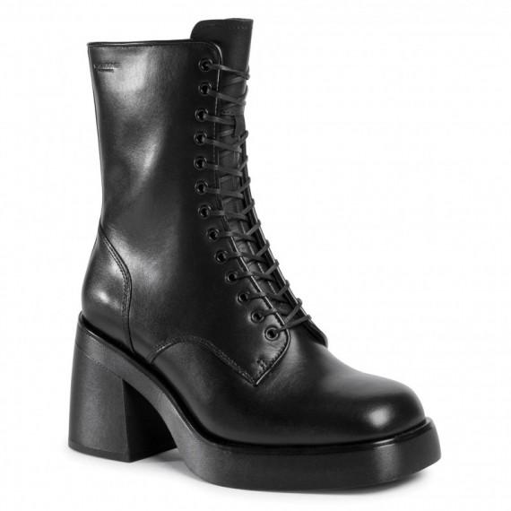 Brooke Lace Zip Boot L Black