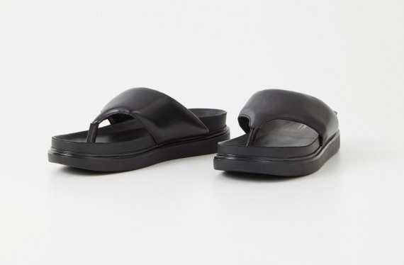 Erin Black Cow Leather