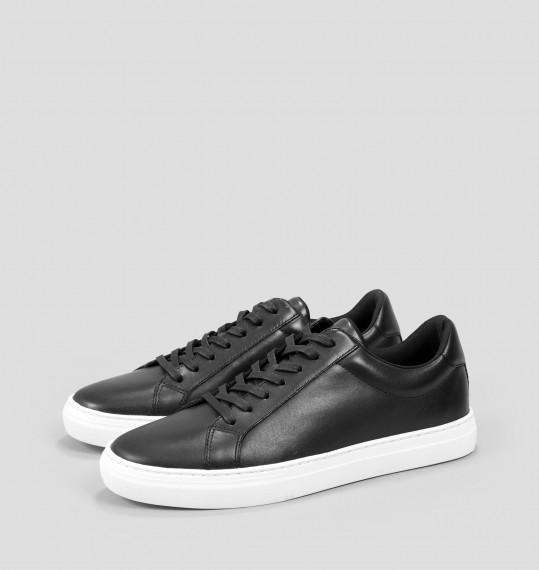 Vagabond PAUL Black Leather Sneakers