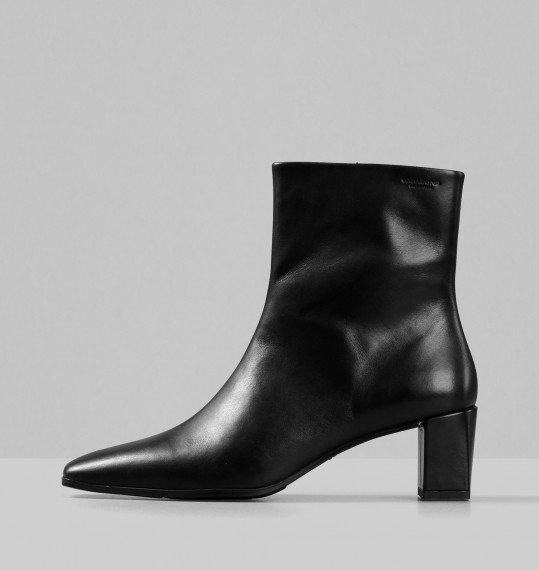 Vagabond Tessa Black Leather Boots