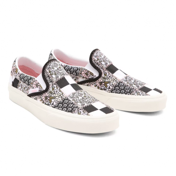 Classic Slip On Patchwork - Floral