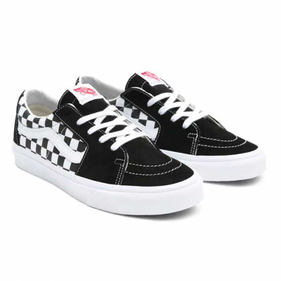 SK8 Low (Canvas/Suede) Black/Checkerboard
